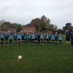 Along with others across the UK, Taverham Tornados u12 and Buxton u12 pay tribute to those who have given their lives for their country.