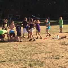 U10's Water Balloon Fight!! July 2016