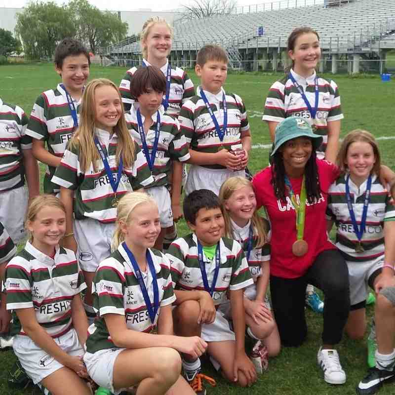 Rugby Ontario Mini;s Festival August 2016 - U12's
