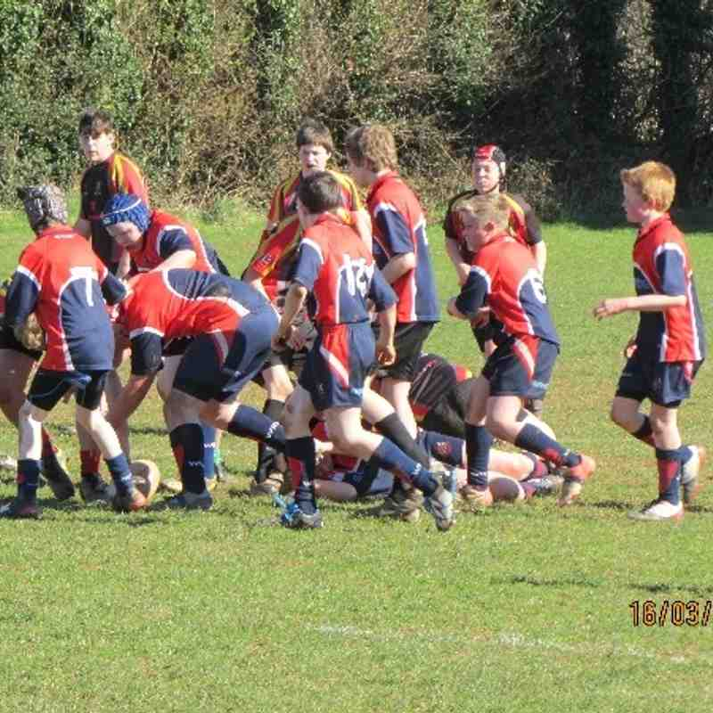 Wiveliscombe vs Chard - March 2014