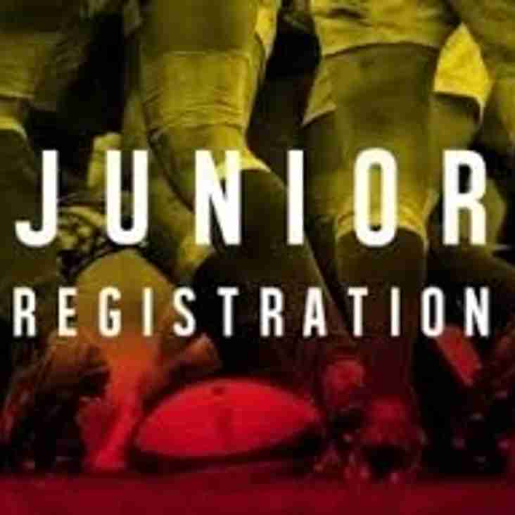 JUNIOR REGISTRATION