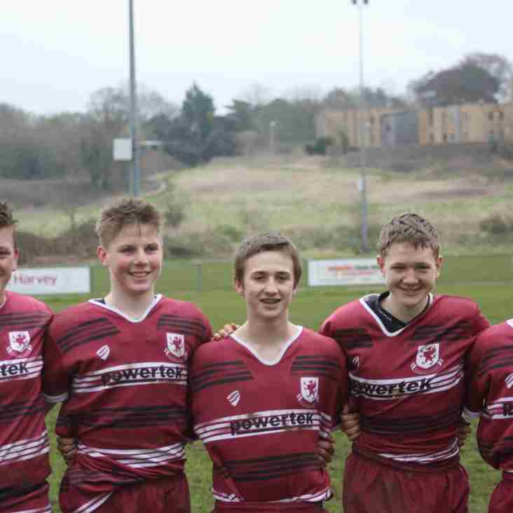 GREAT COUNTY SUCCESS FOR WIVEY'S UNDER 15S
