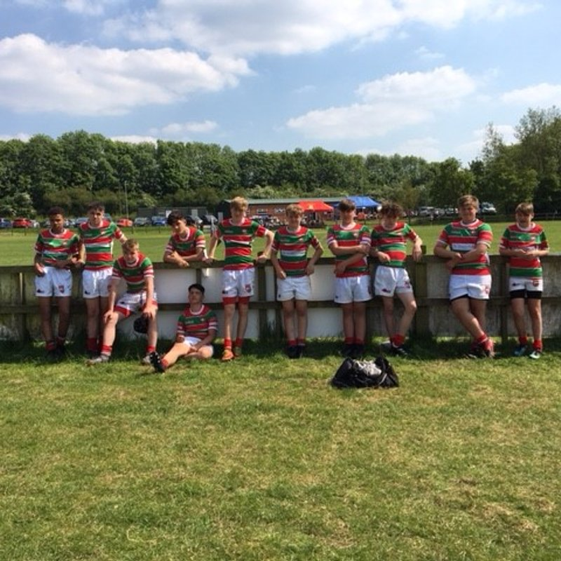 Wire 14's win the Ashby 7's.