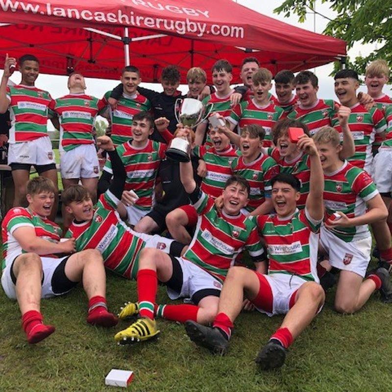 U15's Champions - 3 years on the trot!