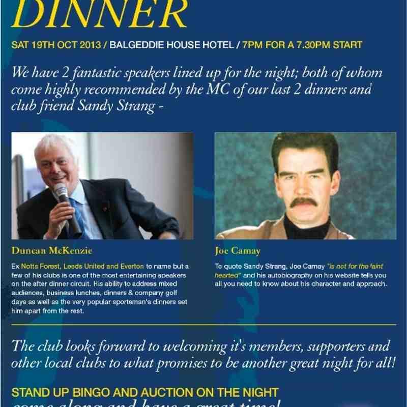 Sportsman's Dinner 2013
