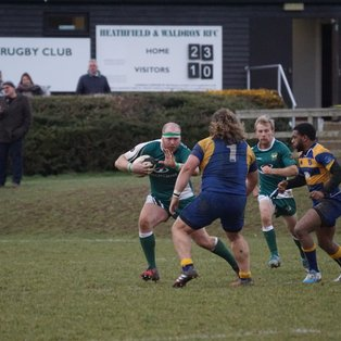Beckenham win after excellent first half hour from Heathfield