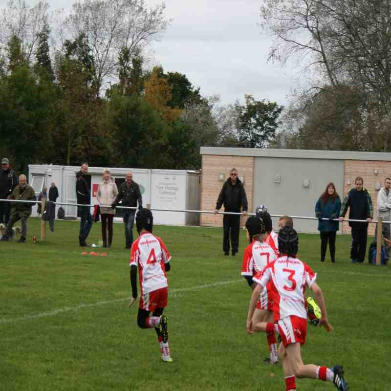Pilk's U8's v  Leyland Warriors