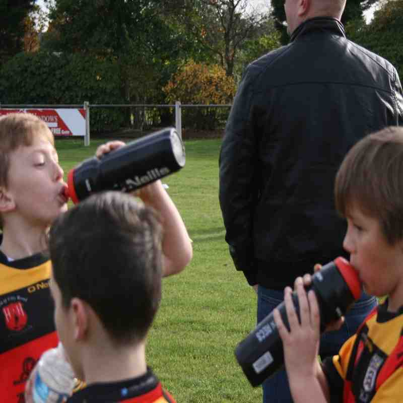 Pilks U8's v Widnes Moorfield 25-10-2015