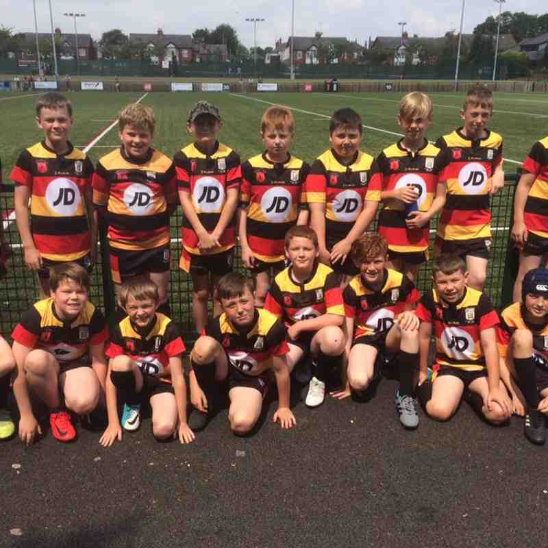 Pilkington Recs U11's v Oldham 24-6-18
