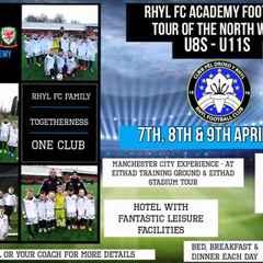 North West Academy Tour U8s-11s