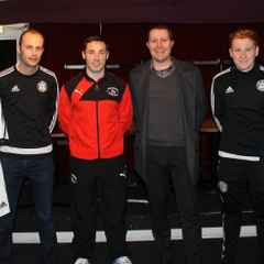 JC Sports & Rhyl FC Scholarship Program presented to all Youth players
