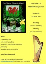 St David's Day Lunch