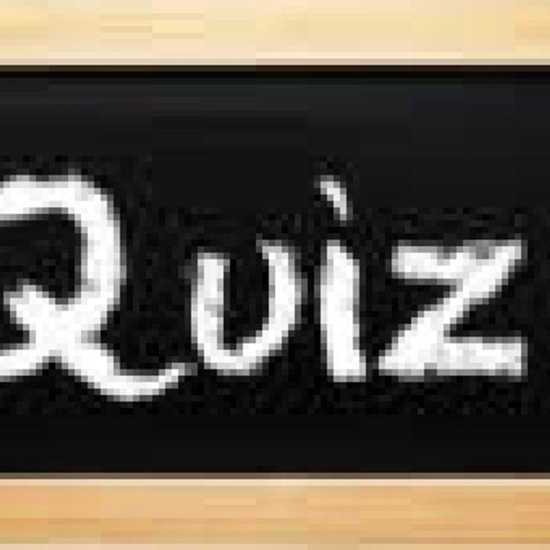 Next Quiz night.  30th September