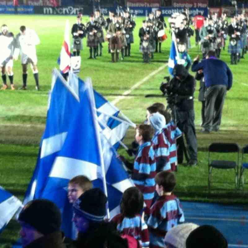 Scotland A v England Saxons