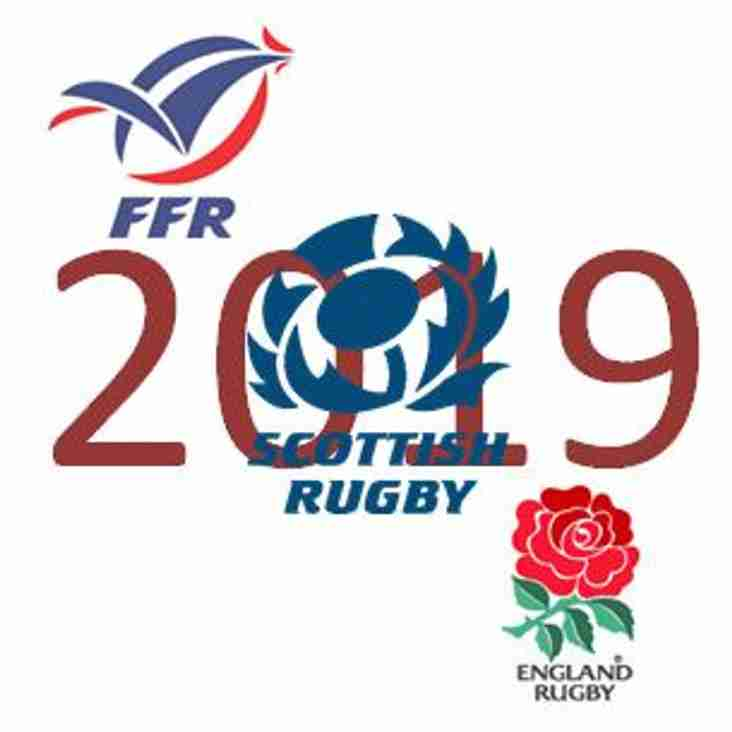 Final Reminder -  1 Week Left for 6 Nations Away Tickets
