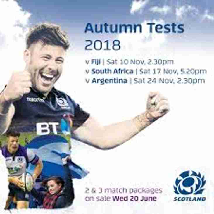 Autumn Test Tickets - Application Deadline Extended