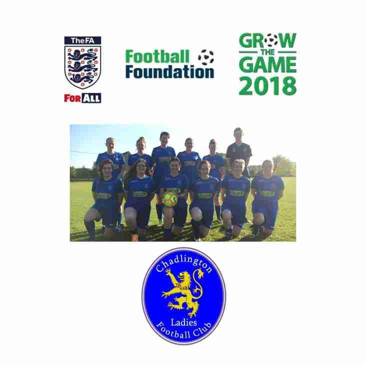 Grow The Game 2018 Grant Award