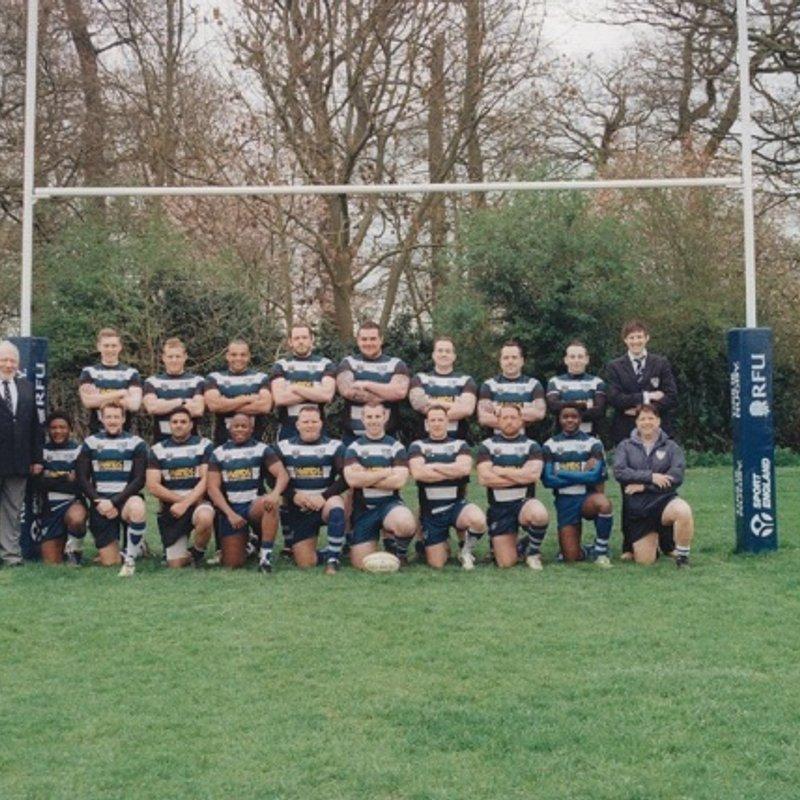 1st Team lose to Northampton Mens Own 10 - 34