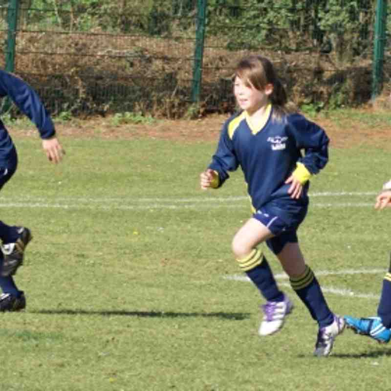 Biggleswade FC V LUFC Girls U10 - 29/9/12