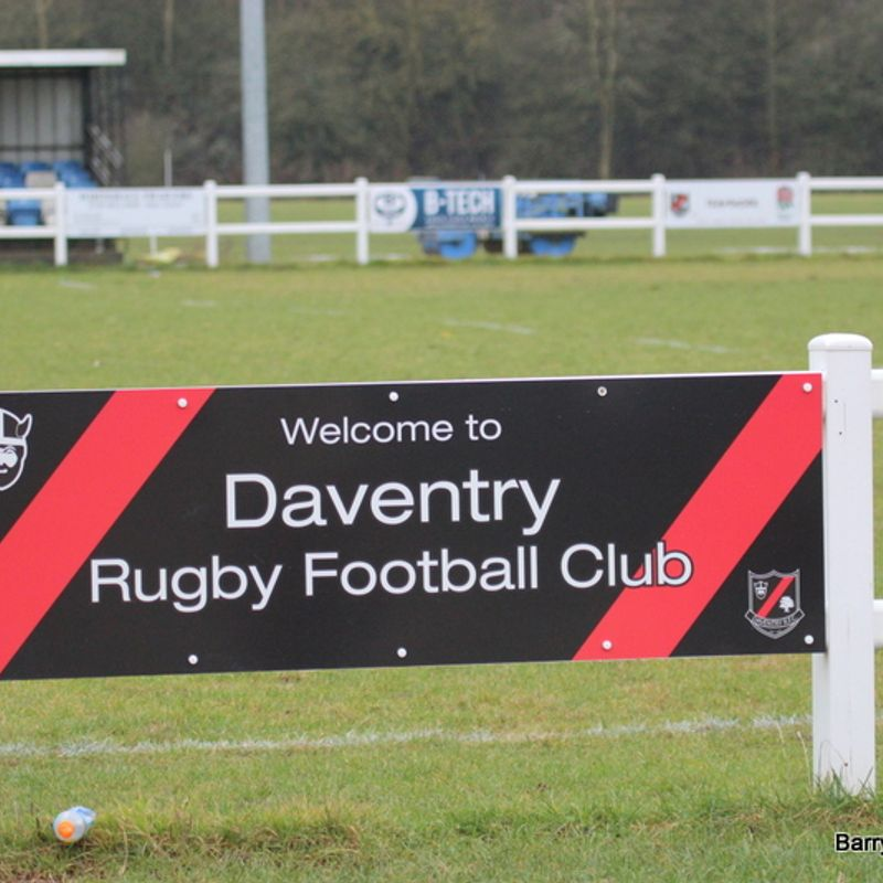 DAVENTRY RFC v JIMMIES 1st 21st January 2017