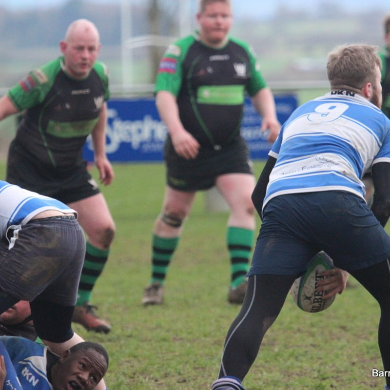 Jimmies V Sileby 1st 18th March 2017