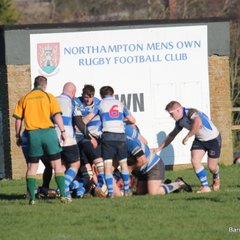 Jimmies 1st V Northampton Old Mens RFC