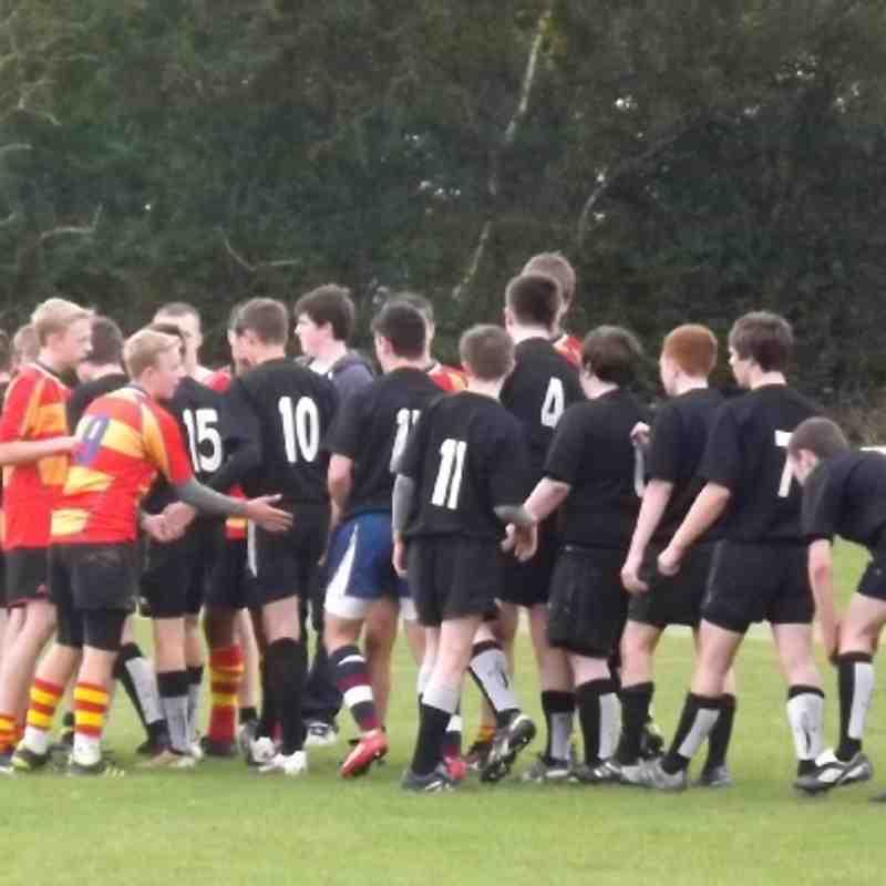 Spartans U16s v Old Salts U16s
