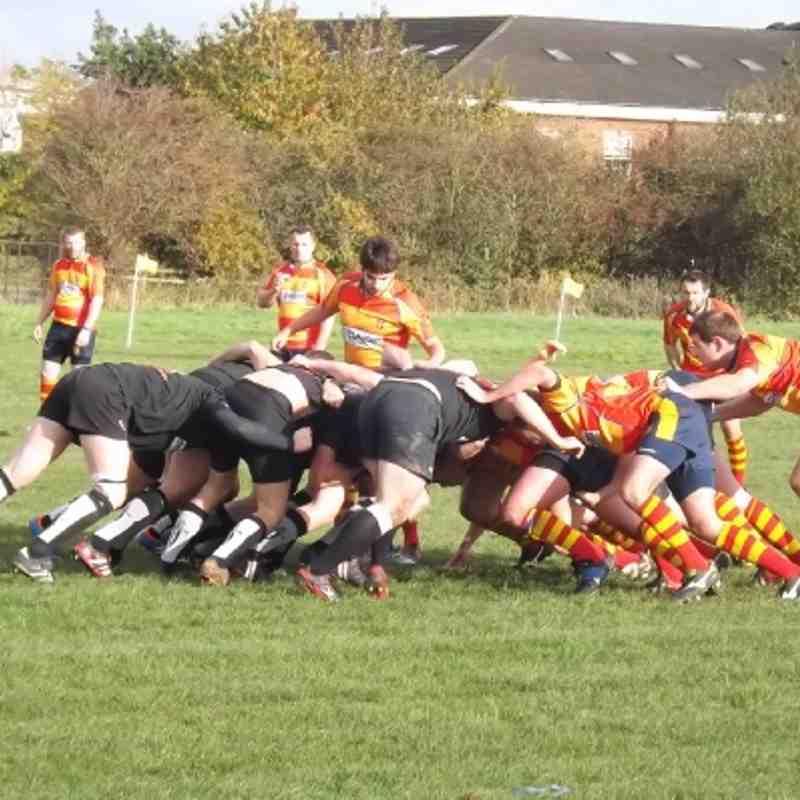 Old Salts v Spartans 27th Oct 2012