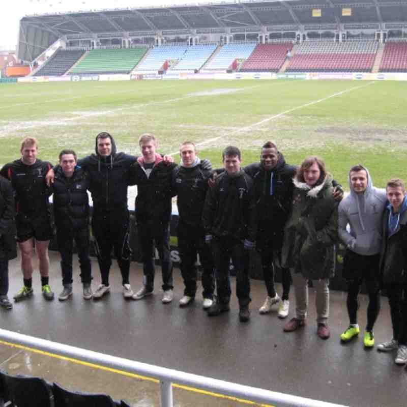 U17s on a recruitment drive (or looking for a new home ground?)