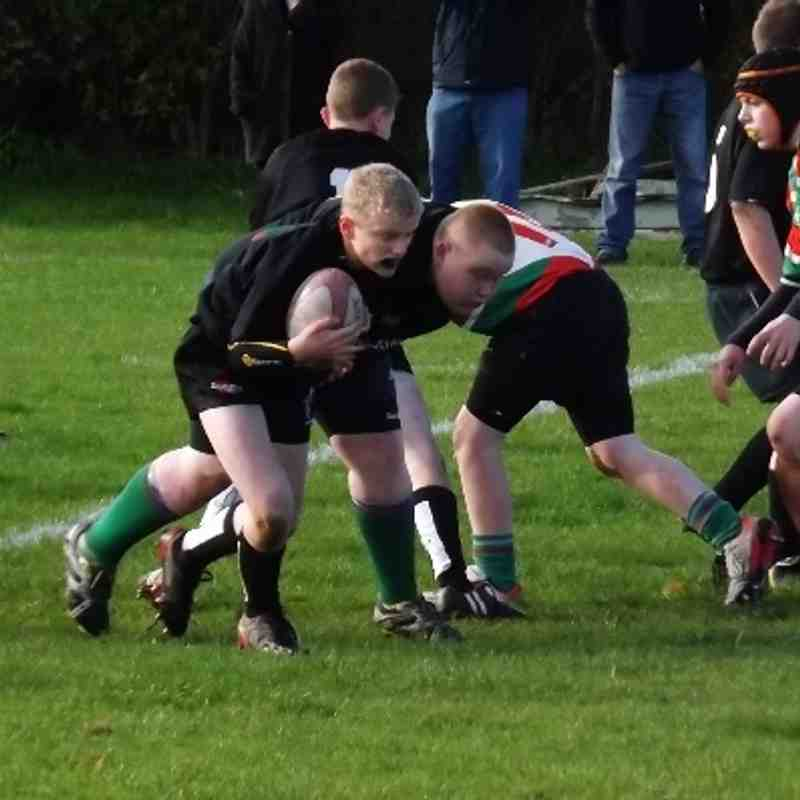 Young spartans v Burntwood 3rd November