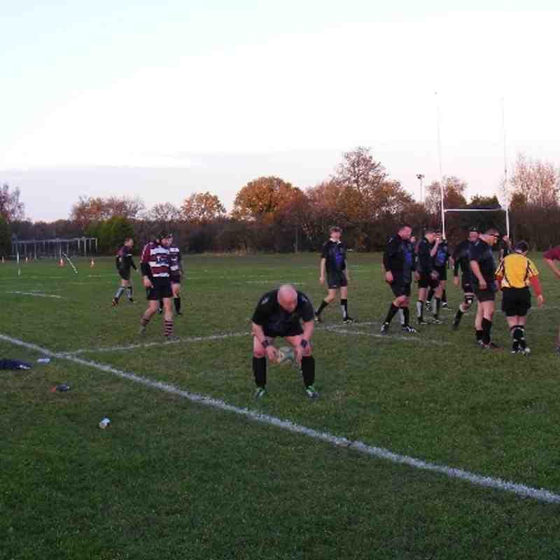 30 November 3s v Tamworth 4s v Lichfield III