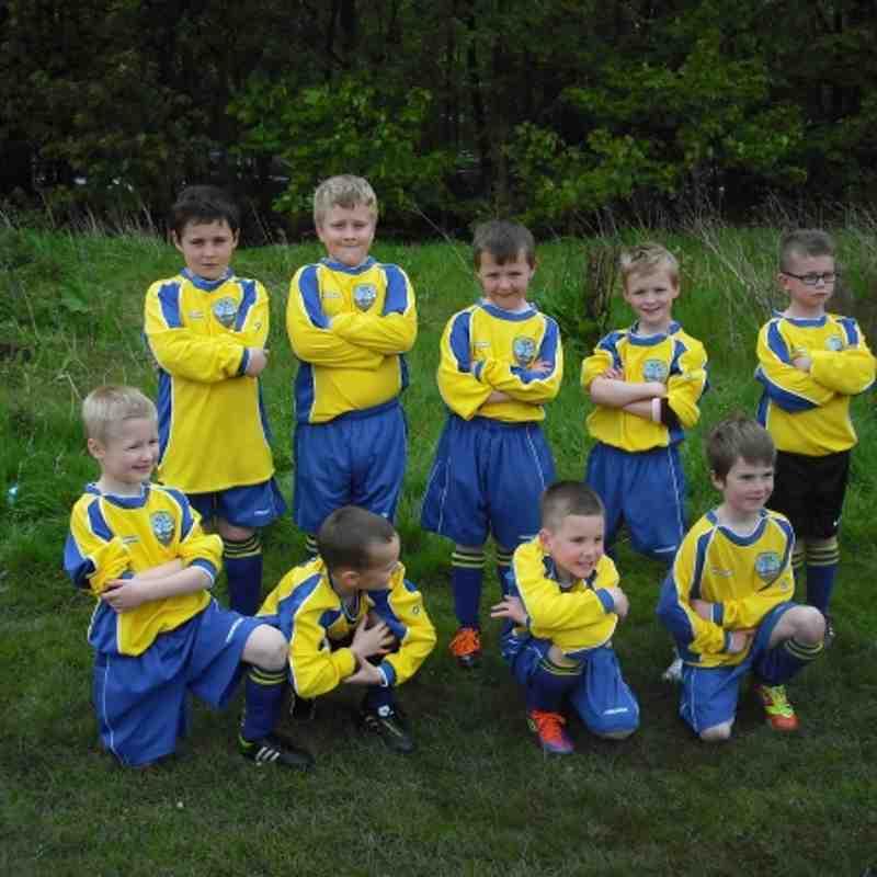 Tynemouth United Under 7 Academy at The Cramlington Tournament May 2012