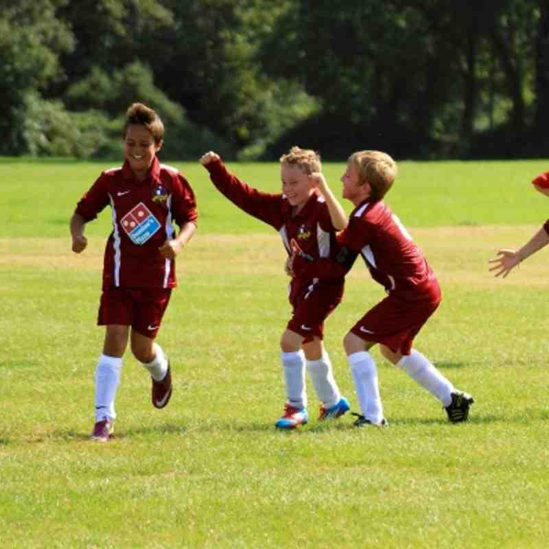 Hurst Under11 vs Fawley Falcons