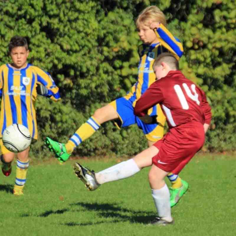 Hurst Under 11's vs Romsey Town FC