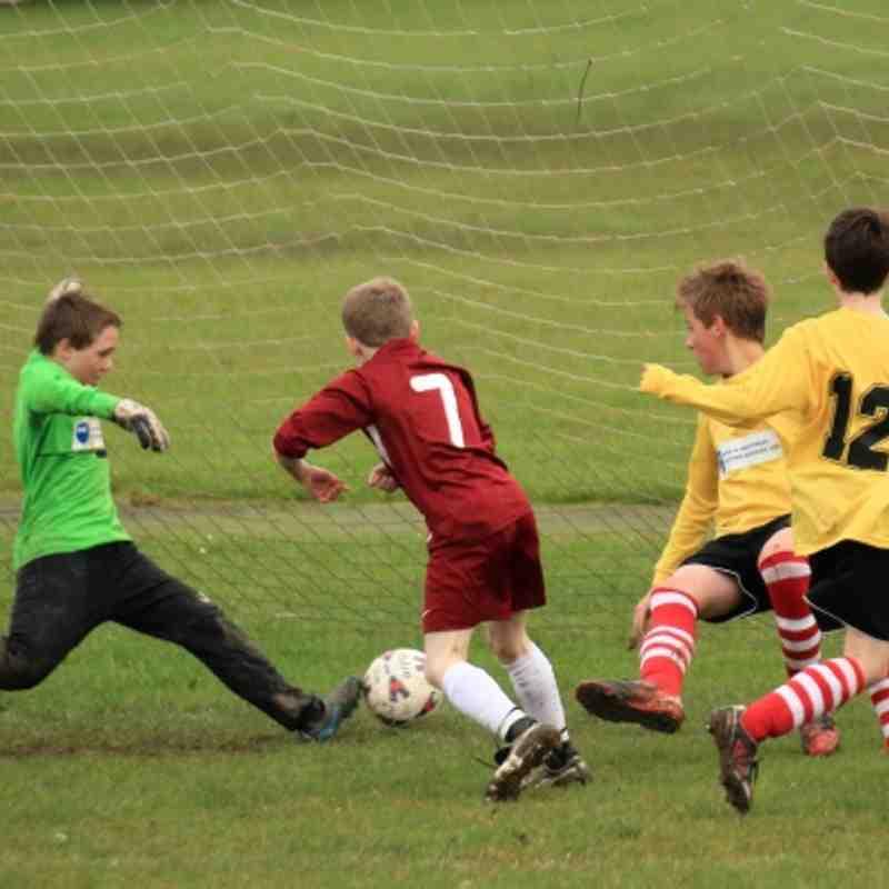 Hurst vs Sholing Youth FC