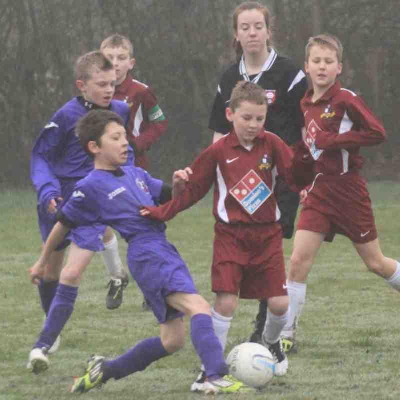 AFC Stoneham vs Hurst under 11's