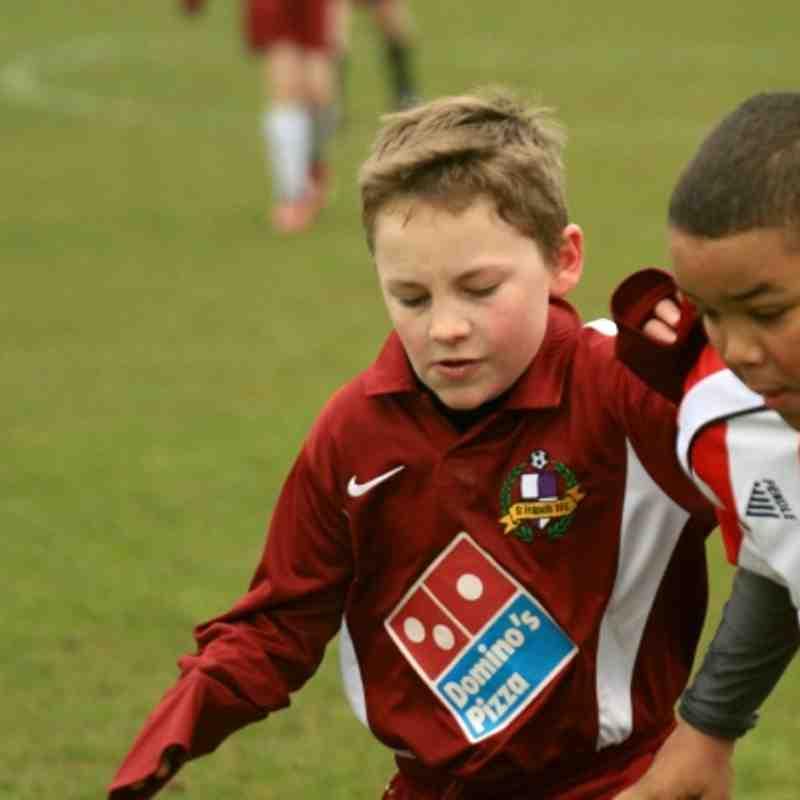 Hurst Under 11,s vs Southside AFC