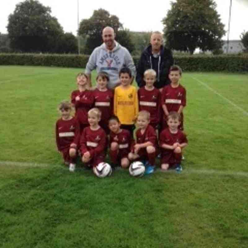 Under 7's Team Photo