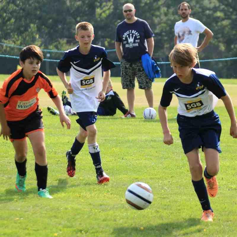 Under 13's Hants Cup Round 1