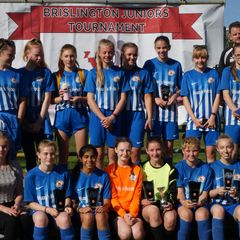 U16 Girls 2018 Brislington Tournament Winners
