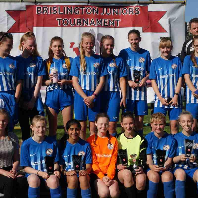 U16 Girls 2018 Brislington Tournament Winners