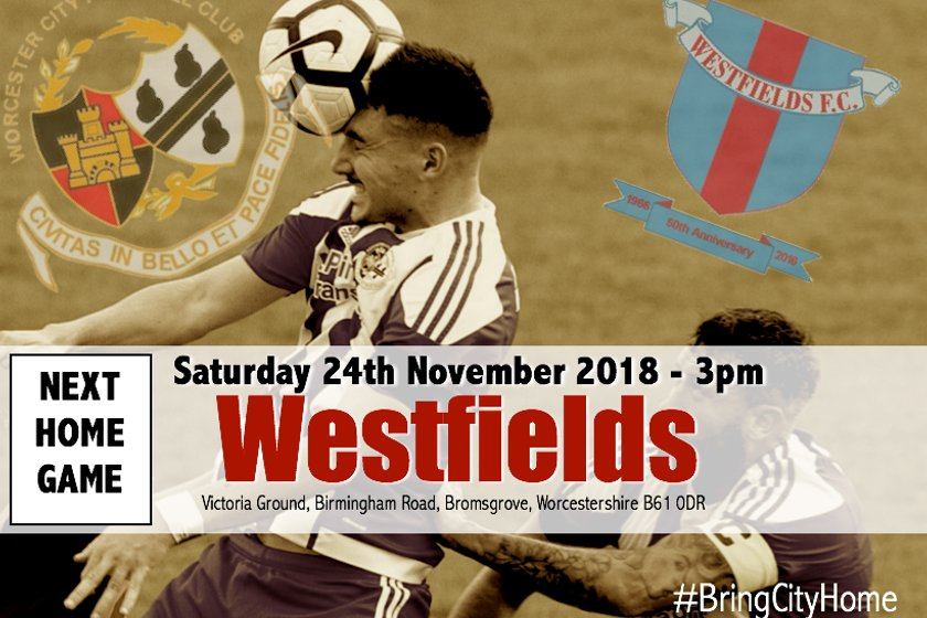 NEXT HOME GAME - WESTFIELDS