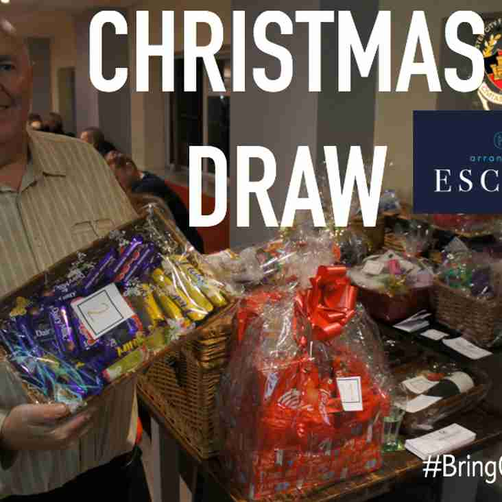 CHRISTMAS DRAW WINNERS