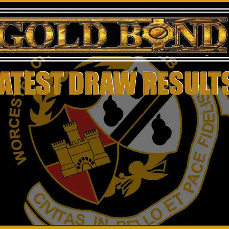 GOLD BOND DRAW LATEST WINNERS - HAVE YOU WON £1800?