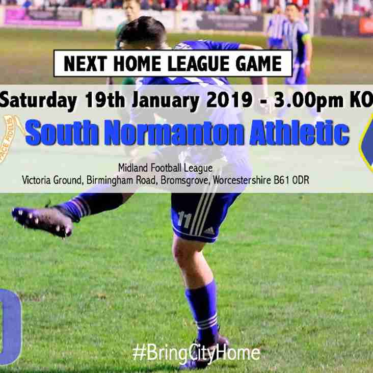 NEXT LEAGUE HOME GAME