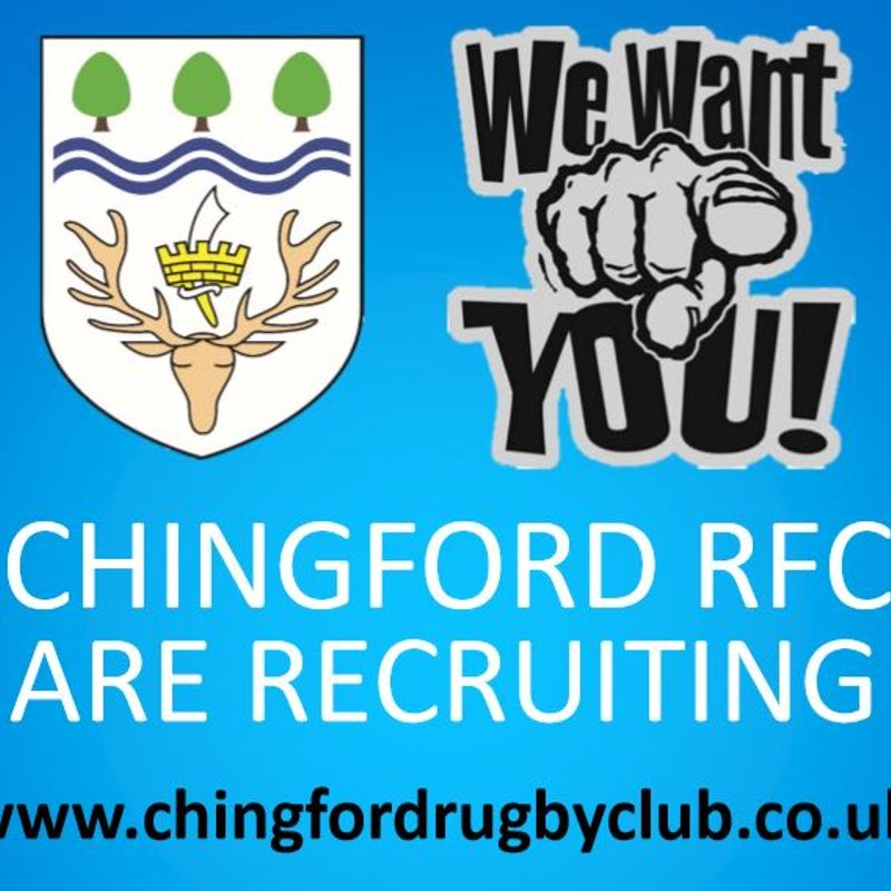 Chingford Are Recruiting