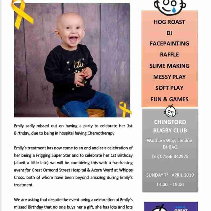 Emily Pipers 1st Birthday Party/Fundraiser