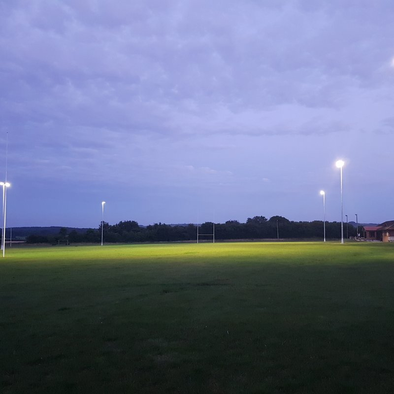 Floodlights are LIVE