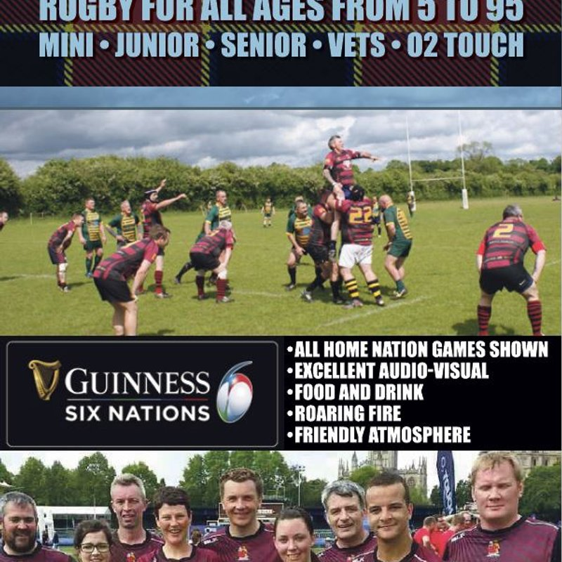 Watch the six nations at HRFC
