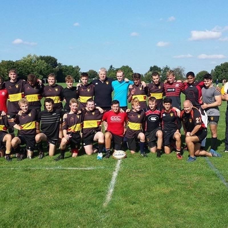 Under 18s / Colts beat Burton RFC 30 - 26